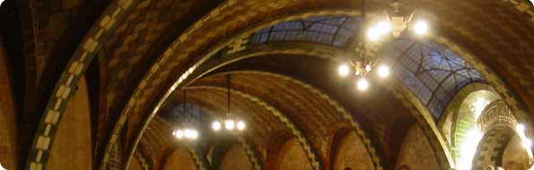 Photo of the IRT City Hall Station as seen on http://www.nycsubway.org