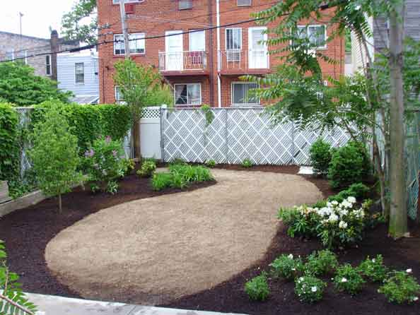 The garden at 31-81 landscaping phase 1